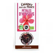Aromandise - Fleurs à Croquer Bio Pétales d'Hibiscus 80g