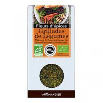 Aromandise - Fleurs d'Epices Grillades de Légumes Bio 20g