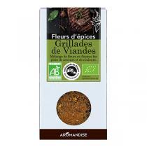 Aromandise - Fleurs d'Epices Grillades de Viandes Bio 85g