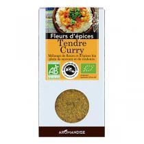 Aromandise - Fleurs d'Epices Tendre Curry Bio 40g