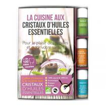 Aromandise - Livre Coffret Cuisine aux Huiles Essentielles