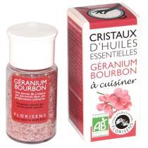 Aromandise - Cristaux d'Huiles Ess. Bio Géranium Bourbon 20g