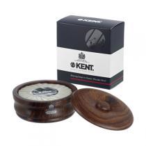 Kent - Jabón de barba y Tazón de Castaño