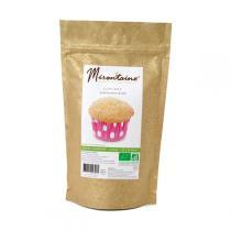 Mirontaine - Préparation BIO Cupcakes nature vanillé 250 g