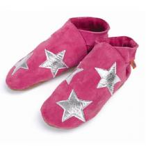 Triggerfish - Stardom Pink Leather Slippers