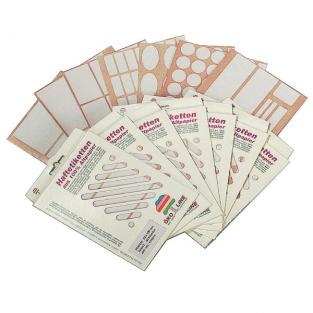 Eco Buro - Adhesive Labels - 20 x 50mm