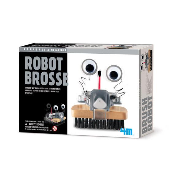 4M - Kit Construction Robot Brosse - Dès 8 ans