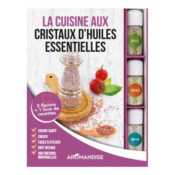 Aromandise - Coffret cristaux d'huiles essentielles