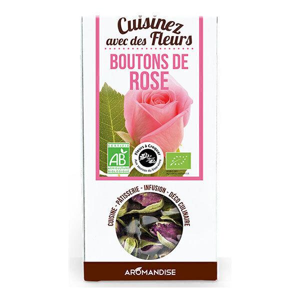 Aromandise - Fleurs à Croquer Bio Boutons de Rose 30g