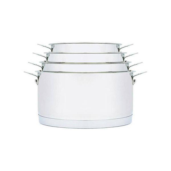 Aubecq - 4 Plug & Play Stainless steel pots