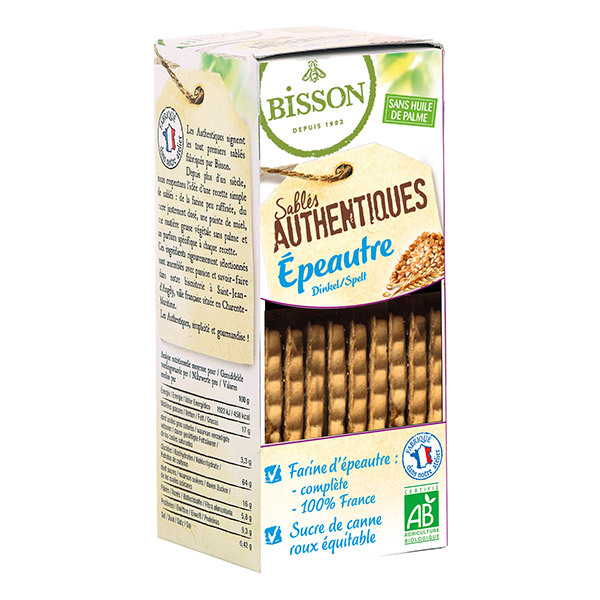 Bisson - Biscuit authentique épeautre 175g