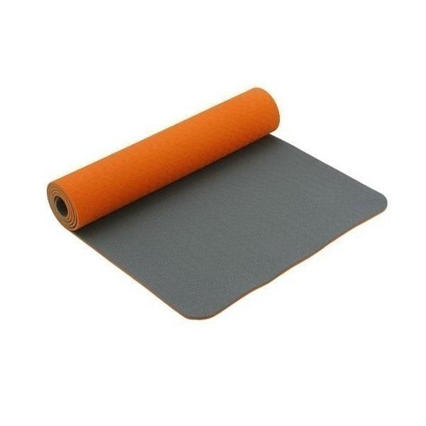 tapis de eco terre orange chin mudra acheter sur greenweez