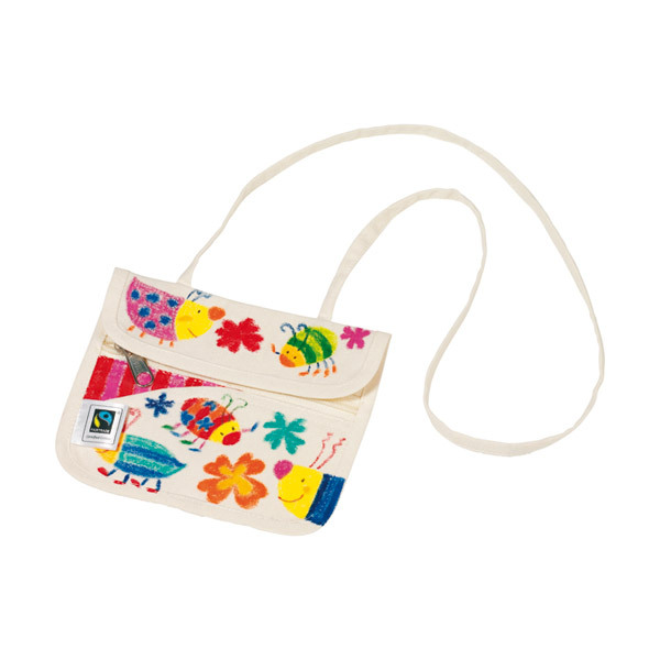 Dam - Fairtrade Cotton purse to colour