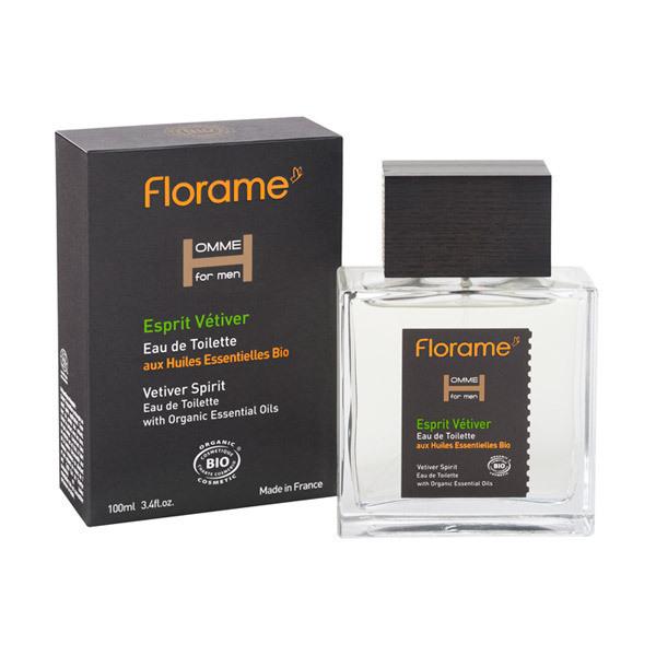 Florame - Eau de Toilette Homme Esprit Vétiver 100ml
