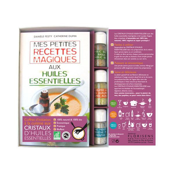 livre coffret cuisine aux huiles ess aromandise acheter