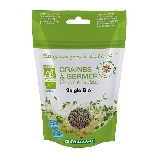 Germ'line - Graines à Germer Bio SEIGLE 200g