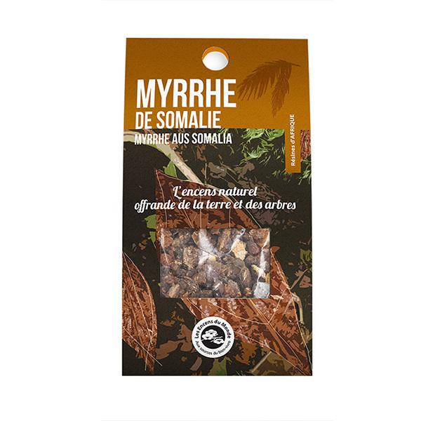 Les Encens du Monde - Encens naturel résine Myrrhe de Somalie 40g