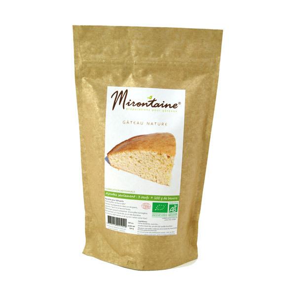 Mirontaine - Préparation BIO Gâteau nature vanillé 291 g