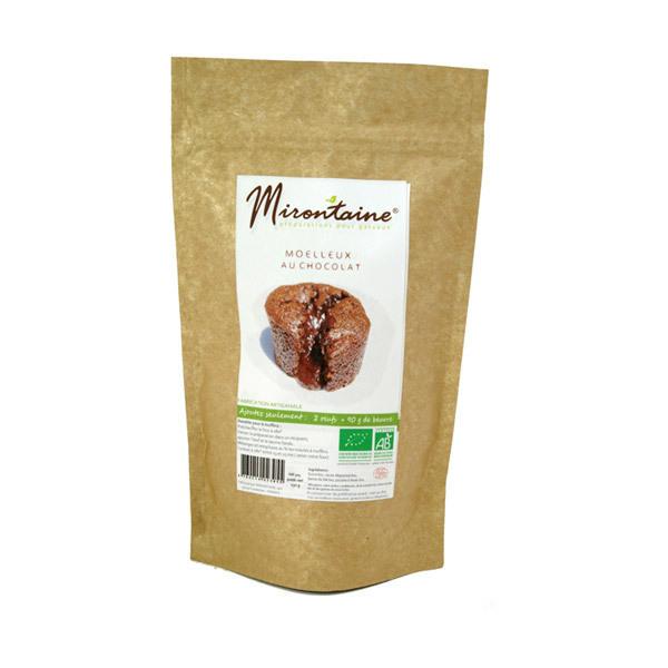 Mirontaine - Préparation BIO Moelleux au chocolat 230 g