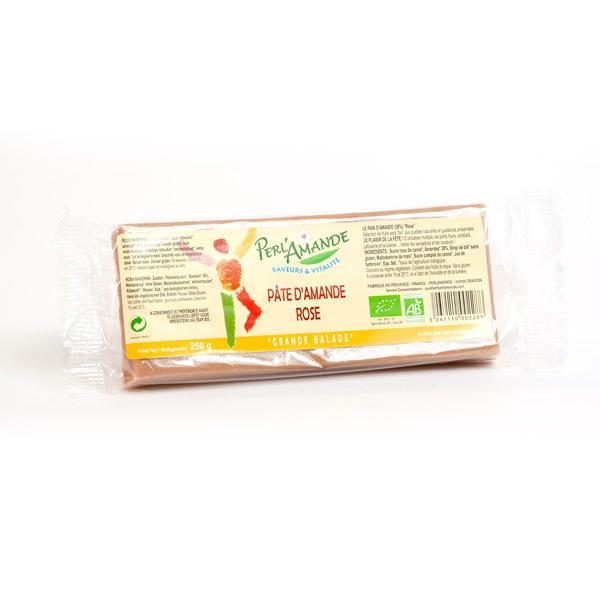 Perlamande - Organic Almond Paste - Pink 250g