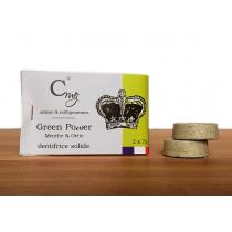 Celsius & milligrammes - Dentifrice Solide Menthe & Ortie Recharge - Green Power