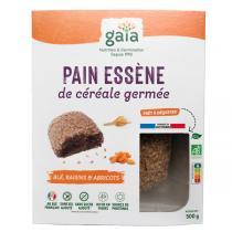 Gaïa - Pain de céréales germées blé raisins abricots 500g