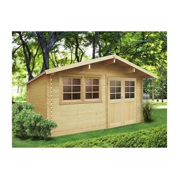 Solid - Abri de jardin NIORT 4180X2980