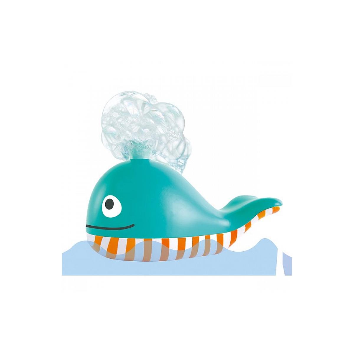 Hape - Jouet pour le bain - La baleine a bulles