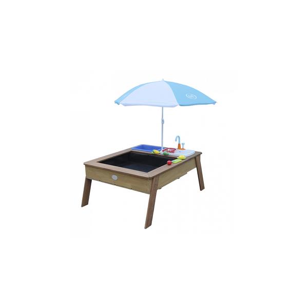 Axi - AXI Linda Table sable et eau avec Cuisine et evier Marron