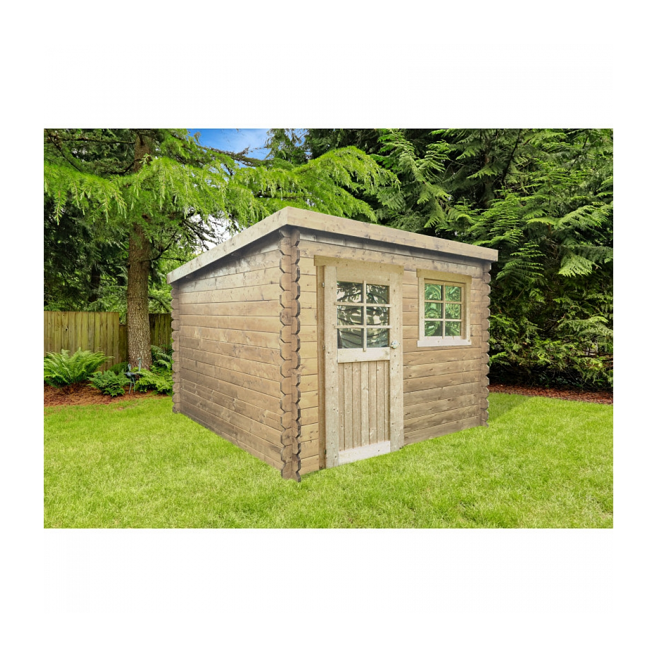 Solid - Abri de jardin NEVERS 2380X2380