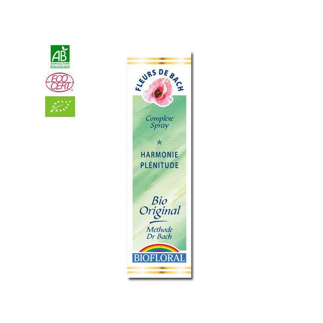 Biofloral - Harmonie - Complexe n°11 Fleurs de Bach bio Spray 20ml