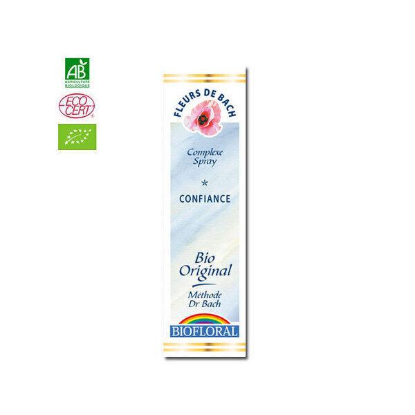 Biofloral - Confiance - Complexe n°6 Fleurs de Bach bio Spray 20ml