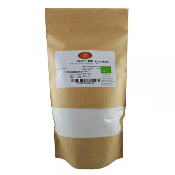 Crystal Gourmet - Farine de Riz Blanc Bio - 500 g