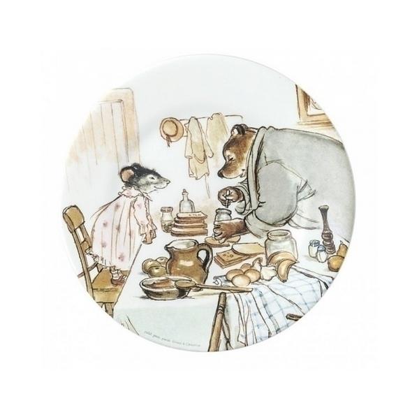 Petit Jour - Assiette a dessert Ernest et Celestine cuisinent