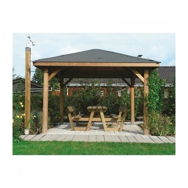 Solid - Abri de Jardin Maisonnette Chalet de Jardin Kiosk 629x347