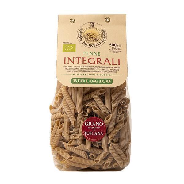Saveurs de Tosca - Pâtes BIO de blé entier Senatore Cappelli Penne Morelli - 500 gr