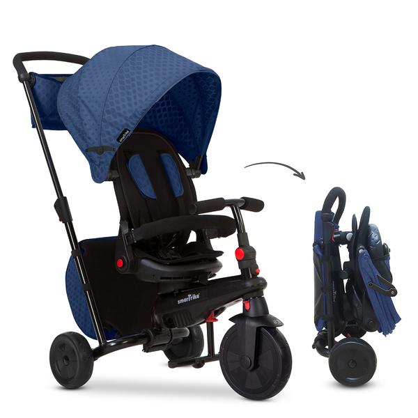 Smartrike - Tricycle pliable évolutif 7en1 - STR7 Bleu