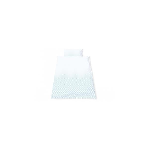 Pinolino - Linge de lit en percale pour lits de bébé Running Stars bleu