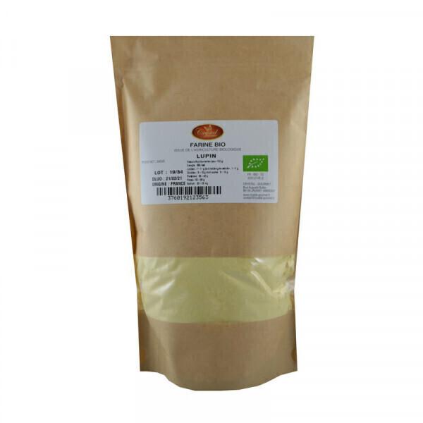 Crystal Gourmet - Farine de Lupin Bio - 500 g
