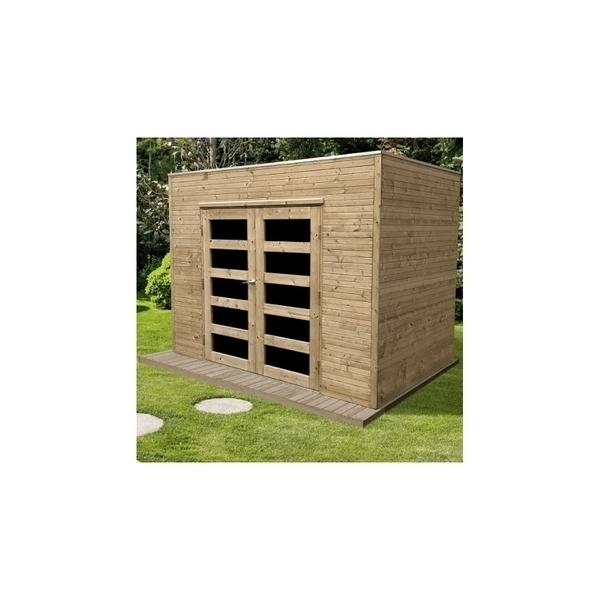Solid - Abri de jardin bois CAPRI 19 mm 5,75 m²