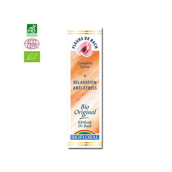Biofloral - Relaxation - Complexe n°9 Fleurs de Bach bio Spray 20ml