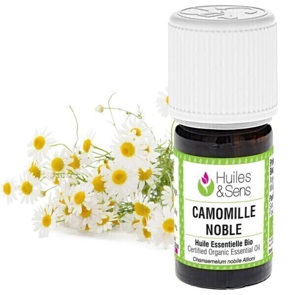 Huiles & Sens - huile essentielle camomille noble (bio)