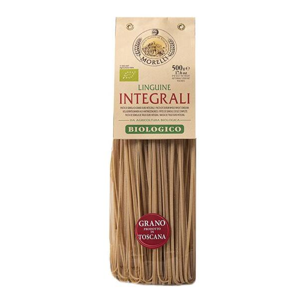 Saveurs de Tosca - Pâtes BIO de blé entier Senatore Cappelli Linguine Morelli - 500