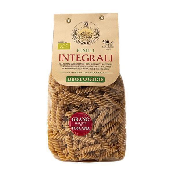 Saveurs de Tosca - Pâtes BIO de blé entier Senatore Cappelli Fusilli Morelli - 500