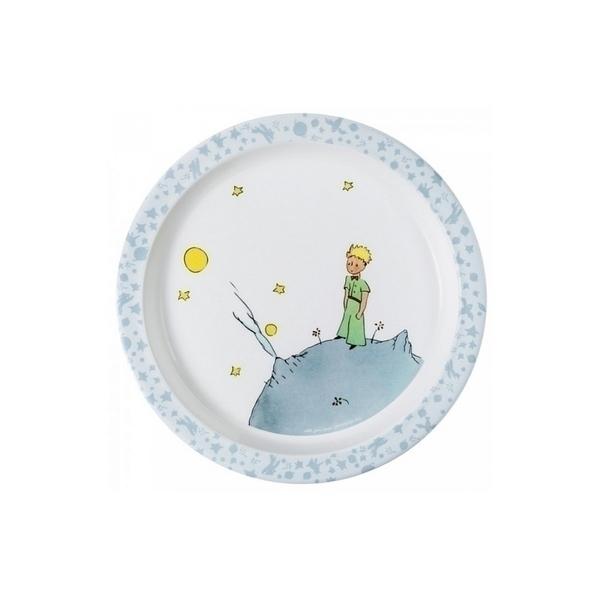 Petit Jour - Assiette bebe Petit Prince Bleue