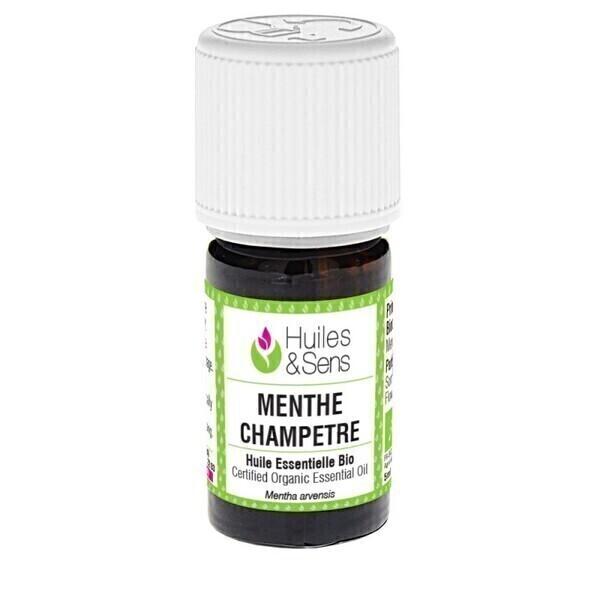 Huiles & Sens - huile essentielle menthe champêtre (bio)