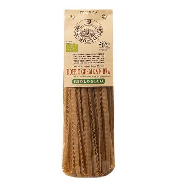 Saveurs de Tosca - Pâtes BIO au double germe de blé & fibres Ricciolina Morelli - 2