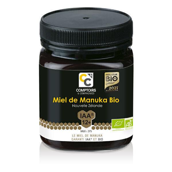 Comptoirs et Compagnies - Miel de Manuka IAA12+ MGO375 Pot de 250g