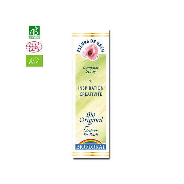 Biofloral - Inspiration - Complexe n°12 Fleurs de Bach bio Spray 20ml