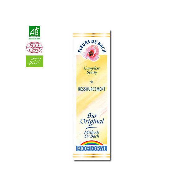Biofloral - Ressourcement - Complexe n°10 Fleurs de Bach bio Spray 20ml